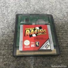 Videojuegos y Consolas: MICKEYS RACING ADVENTURE NINTENDO GAME BOY COLOR. Lote 124415699
