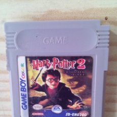 Videojuegos y Consolas: JUEGO GAME BOY COLOR HARRY POTTER AND THE CHAMBER OF SECRETS - PAL INGLES. Lote 193939447