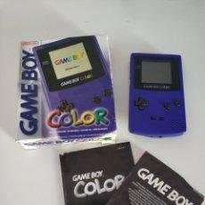Videojuegos y Consolas: GAME BOY COLOR LILA VIOLETA. Lote 128006659