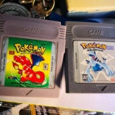 Videojuegos y Consolas: 2 JUEGOS GAMEBOY POKÉMON. Lote 172800570