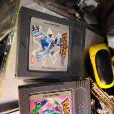 Videojuegos y Consolas: 2 JUEGOS GAMEBOY POKÉMON . Lote 128174819
