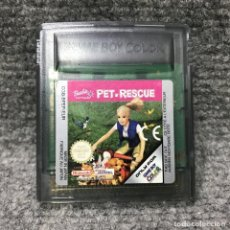 Videojuegos y Consolas: BARBIE PET RESCUE NINTENDO GAME BOY COLOR. Lote 128502647