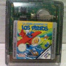 Videojuegos y Consolas: LA GRAN AVENTURA DE LOS PITUFOS GAME BOY COLOR. Lote 130357666