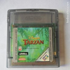 Videojuegos y Consolas: TARZAN DISNEY - JUEGO GAMEBOY GAME BOY COLOR NINTENDO - FUNCIONANDO-. Lote 130792376
