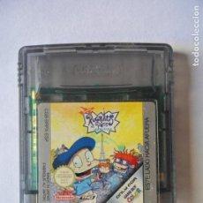 Videojuegos y Consolas: RUGRATS EN PARIS - JUEGO GAMEBOY GAME BOY COLOR NINTENDO - FUNCIONANDO-. Lote 130792412