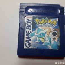 Videojuegos y Consolas: 08-00239 GAME BOY COLOR -POKEMON EDICION AZUL. Lote 131750230