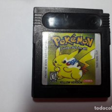 Videojuegos y Consolas: 08-00241 GAME BOY COLOR -POKEMON EDICION YELLOW. Lote 131750410