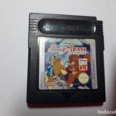 Videojuegos y Consolas: 08-00238 GAME BOY COLOR -LA BELLA Y LA BESTIA, AVENTURA SOBRE EL TABLERO. Lote 131750762