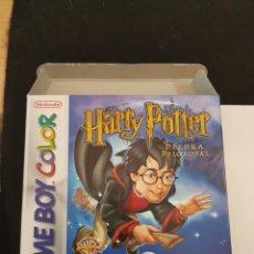 Videojuegos y Consolas: NINTENDO GAMEBOY COLOR HARRY POTTER Y LA PIEDRA FILOSOFAL. Lote 132109930
