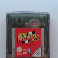 Videojuegos y Consolas: NINTENDO GAME BOY COLOR GBC MICKEY RACING ADVENTURE SOLO CARTUCHO PAL R7992. Lote 134369962
