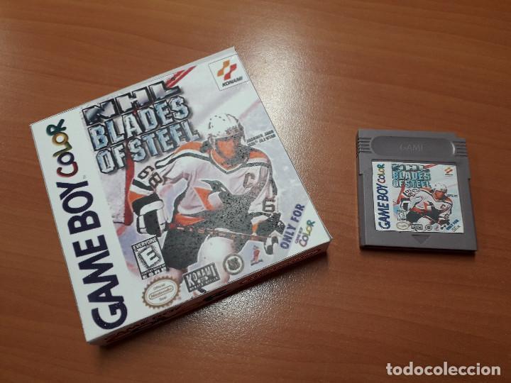 08-00254 GAME BOY COLOR - BLADES OF STEEL ( CON CAJA CASERA) (Juguetes - Videojuegos y Consolas - Nintendo - GameBoy Color)
