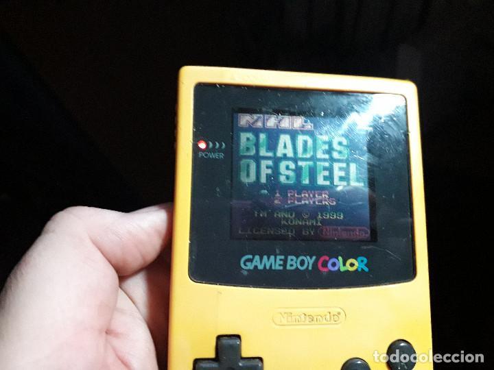 Videojuegos y Consolas: 08-00254 GAME BOY COLOR - BLADES OF STEEL ( CON CAJA CASERA) - Foto 3 - 134869258