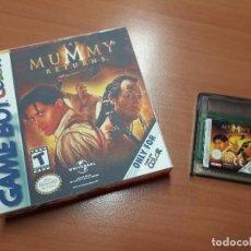 Videojuegos y Consolas: 08-00259 GAME BOY COLOR - EL RETORNO DE LA MOMIA-MUMMY RETURNS ( CON CAJA CASERA). Lote 134869834