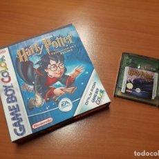 Videojuegos y Consolas: 08-00268 GAME BOY COLOR - HARRY POTTER Y LA PIEDRA FILOSOFAL ( CON CAJA CASERA). Lote 134869906