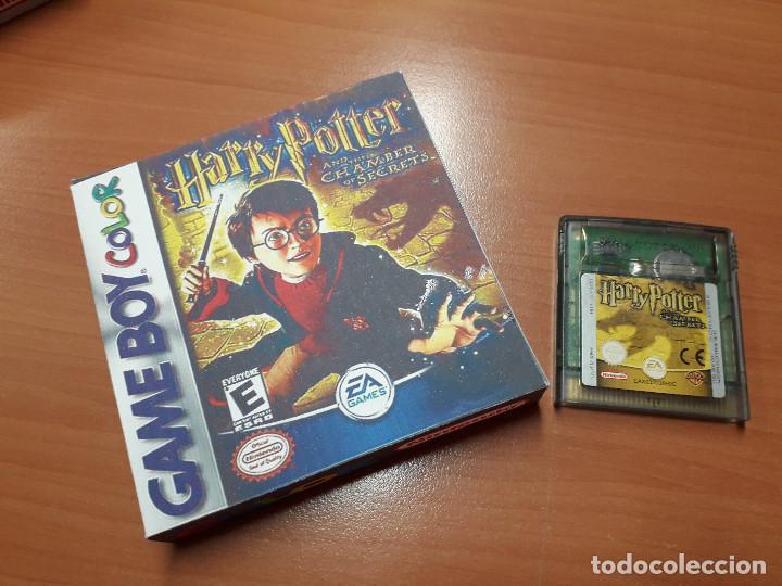 08-00269 GAME BOY COLOR - HARRY POTTER Y LA CAMARA SECRETA ( CON CAJA CASERA) (Juguetes - Videojuegos y Consolas - Nintendo - GameBoy Color)