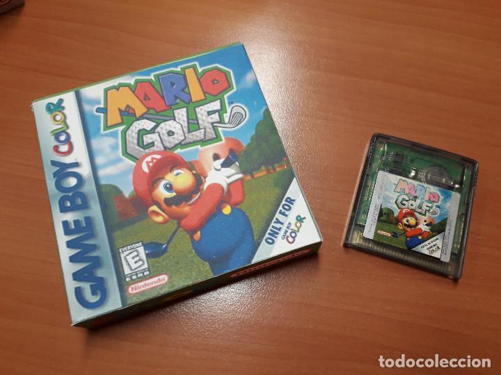 08-00272 GAME BOY COLOR - MARIO GOLF ( CON CAJA CASERA) (Juguetes - Videojuegos y Consolas - Nintendo - GameBoy Color)