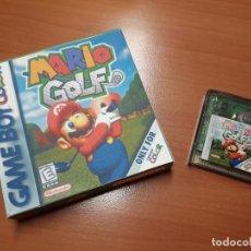 Videojuegos y Consolas: 08-00272 GAME BOY COLOR - MARIO GOLF ( CON CAJA CASERA). Lote 134870306