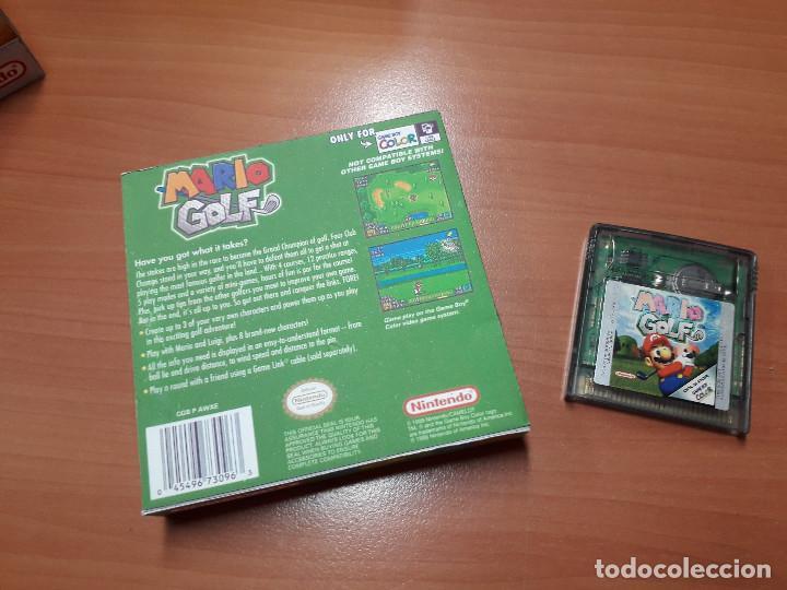 Videojuegos y Consolas: 08-00272 GAME BOY COLOR - MARIO GOLF ( CON CAJA CASERA) - Foto 2 - 134870306