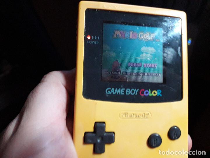 Videojuegos y Consolas: 08-00272 GAME BOY COLOR - MARIO GOLF ( CON CAJA CASERA) - Foto 3 - 134870306