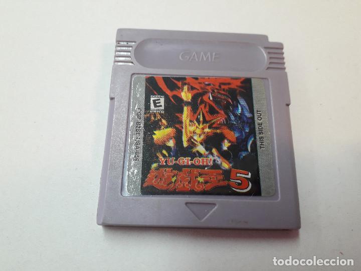 08-00261 GAME BOY COLOR - YU GI OH¡ 5, DARK DUEL STORIES (Juguetes - Videojuegos y Consolas - Nintendo - GameBoy Color)
