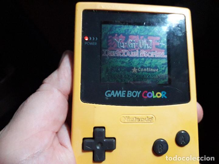 Videojuegos y Consolas: 08-00261 GAME BOY COLOR - YU GI OH¡ 5, DARK DUEL STORIES - Foto 2 - 134871146