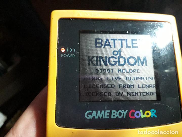Videojuegos y Consolas: 08-00266 GAME BOY COLOR - BATTLE OF KINGDOM - Foto 2 - 134871294
