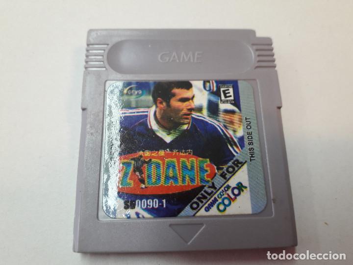 08-00267 GAME BOY COLOR - ZIDANE (Juguetes - Videojuegos y Consolas - Nintendo - GameBoy Color)