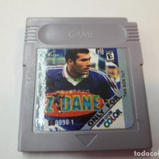 Videojuegos y Consolas: 08-00267 GAME BOY COLOR - ZIDANE. Lote 134871334