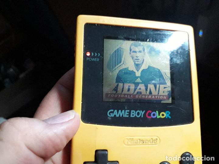 Videojuegos y Consolas: 08-00267 GAME BOY COLOR - ZIDANE - Foto 2 - 134871334