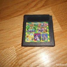 Videojuegos y Consolas: GAMEBOY NINTENDO JUEGO PARA GAME BOY COLOR 12 EN 1 POKEMON PAPERBOY BUNNY JUEGAZOS ETC VER. Lote 139726678