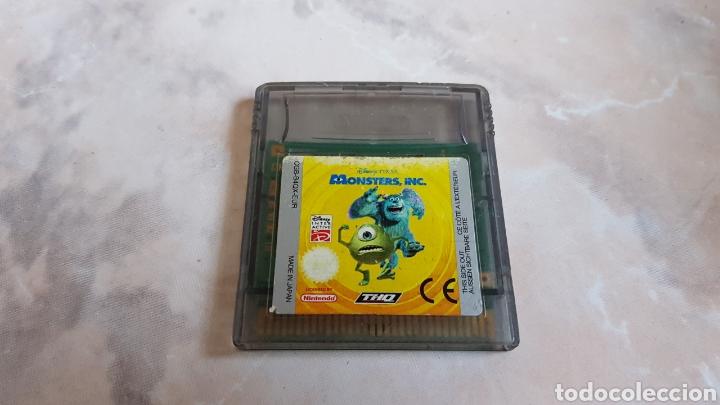 JUEGO MONSTERS DISNEY PIXAR NINTENDO GAMEBOY COLOR (Juguetes - Videojuegos y Consolas - Nintendo - GameBoy Color)