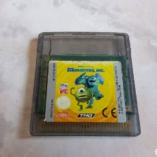 Videojuegos y Consolas: JUEGO MONSTERS DISNEY PIXAR NINTENDO GAMEBOY COLOR. Lote 142315921