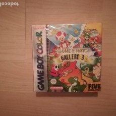 Videojuegos y Consolas: GAME & WATCH GALLERY 3 GAME BOY COLOR NUEVO PRECINTADO. Lote 143001534