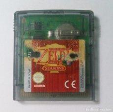 Videojuegos y Consolas: ZELDA ORACLE OF SEASONS - NINTENDO GAME BOY COLOR. Lote 143072146