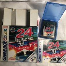 Videojuegos y Consolas: JUEGO GAME BOY COLOR 24 HORAS DE LE MANS. Lote 146939878