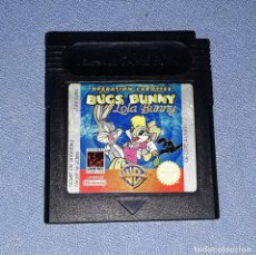 Videojuegos y Consolas: JUEGO NINTENDO GAME BOY COLOR BUGS BUNNY ORIGINAL EN BUEN ESTADO VER FOTO. Lote 147742638