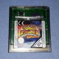 Videojuegos y Consolas: JUEGO NINTENDO GAME BOY COLOR TOMB RAIDER ORIGINAL EN BUEN ESTADO VER FOTO. Lote 147743246