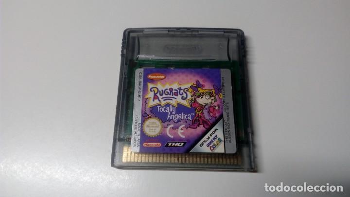 RUGRATS TOTALLY ANGELICA GAME BOY COLOR PAL CONSOLA NINTENDO FUNCIONANDO PERFECTAMENTE NO NDS GBA (Juguetes - Videojuegos y Consolas - Nintendo - GameBoy Color)