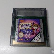 Videojuegos y Consolas: RUGRATS TOTALLY ANGELICA GAME BOY COLOR PAL CONSOLA NINTENDO FUNCIONANDO PERFECTAMENTE NO NDS GBA . Lote 151330998