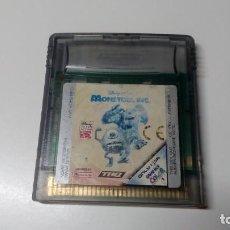 Videojuegos y Consolas: MONSTRUOS S.A MONSTERS INC JUEGO GAME BOY COLOR PAL CONSOLA NINTENDO NO NDS GBA . Lote 151331210
