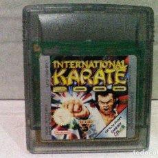 Videojuegos y Consolas: INTERNATIONAL KARATE 2000 GAME BOY COLOR NINTENDO. Lote 151452322