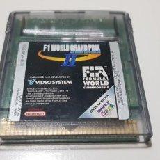 Videojuegos y Consolas: J- F1 WORLD GRAND PRIX NINTENDO GAME BOY COLOR VERSION EUROPEA MUY BUEN ESTADO. Lote 151656582