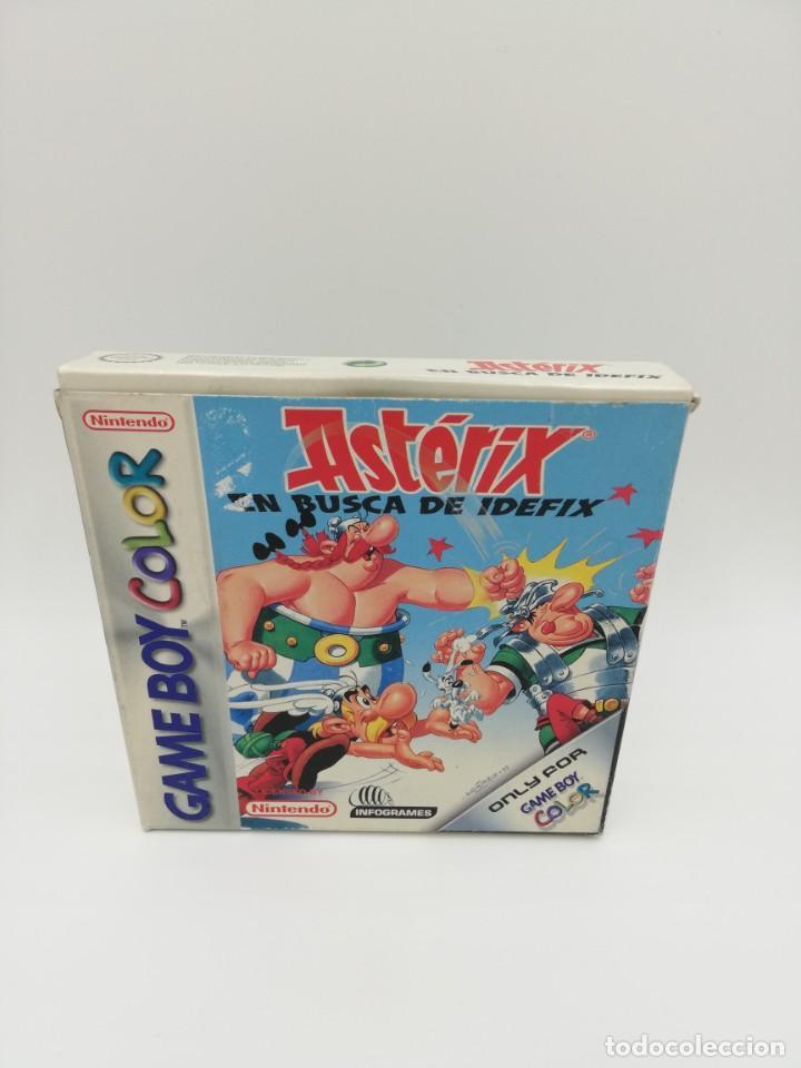ASTERIX EN BUSCA DE IDEFIX GAME BOY COLOR COMPLETO (Juguetes - Videojuegos y Consolas - Nintendo - GameBoy Color)