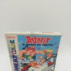 Videojuegos y Consolas: ASTERIX EN BUSCA DE IDEFIX GAME BOY COLOR COMPLETO. Lote 154928746
