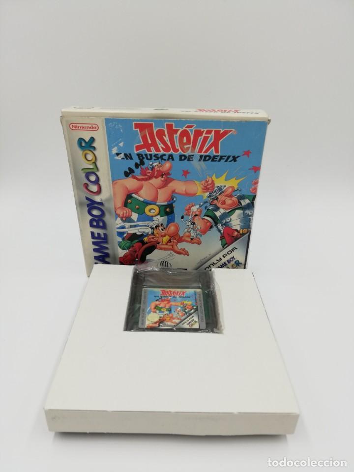 Videojuegos y Consolas: ASTERIX EN BUSCA DE IDEFIX GAME BOY COLOR COMPLETO - Foto 2 - 154928746