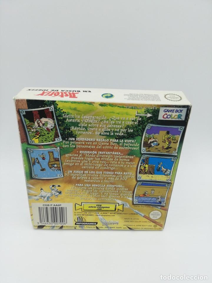 Videojuegos y Consolas: ASTERIX EN BUSCA DE IDEFIX GAME BOY COLOR COMPLETO - Foto 3 - 154928746