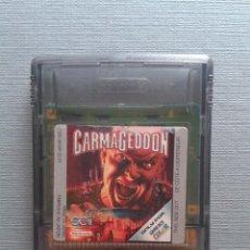 Videojuegos y Consolas: JUEGO GAME BOY COLOR GBC CARMAGEDDON SOLO CARTUCHO PAL R8726. Lote 154990546