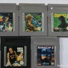 Videojuegos y Consolas: GAMEBOY COLOR CON CINCO JUEGOS. Lote 155417534