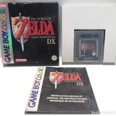 Videojuegos y Consolas: ZELDA DX NINTENDO GAME BOY COLOR. Lote 155657854