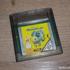 Videojuegos y Consolas: NINTENDO GAMEBOY COLOR JUEGO MONSTERS INC. Lote 156616210